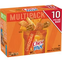 Chex Mix Cheddar Savory Snack Mix, 17.5 oz Bag