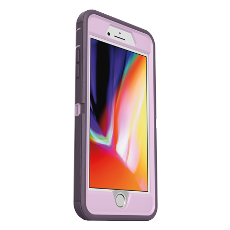OtterBox Defender Pro Series Case for iPhone 8 Plus/iPhone 7 Plus, Purple Nebula