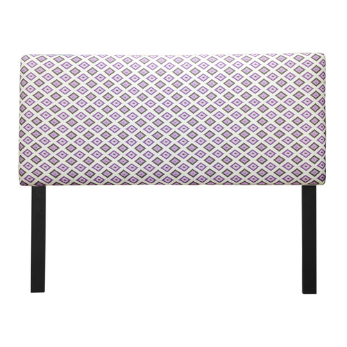Sole Designs Carnival Grape Upholstered Headboard