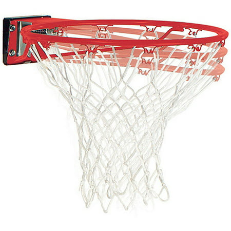 Spalding Slam Jam Breakaway Mounted Basketball Hoop Rim and Net