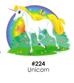 Unicorn Cake Decoration Edible Frosting Photo Sheet Walmartcom