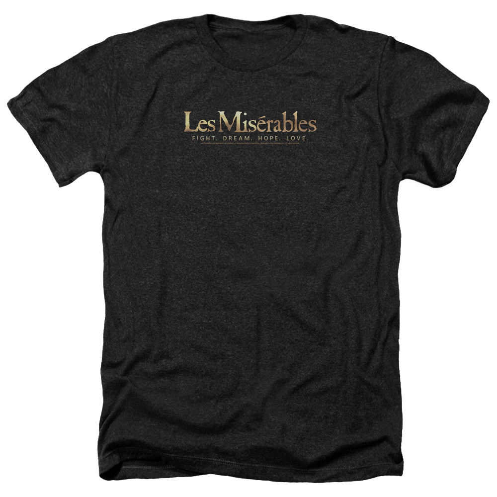 Les Miserables Logo Mens Heather Shirt