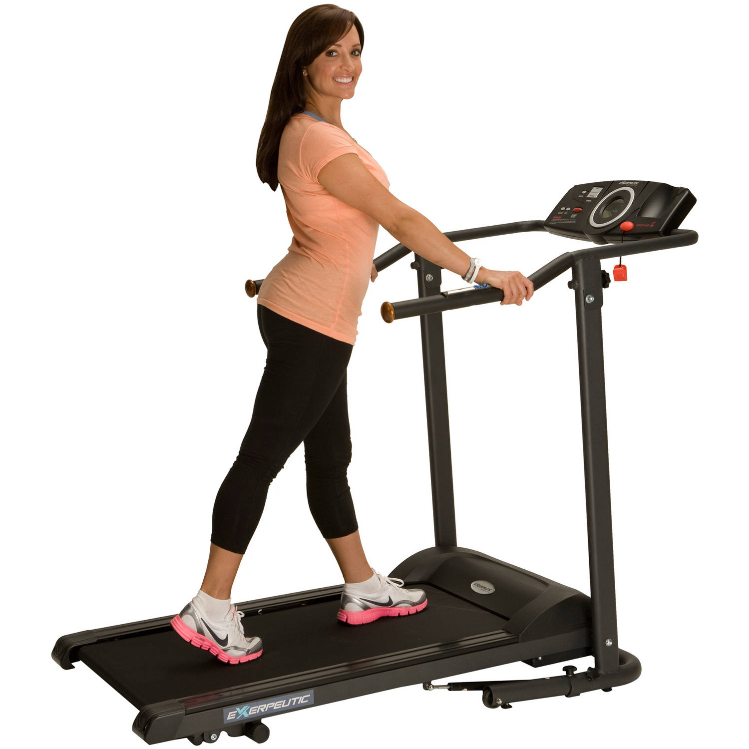 Exerpeutic TF1000 Ultra High 400 LB Weight Capacity Electric Treadmill with Incline & LCD Display