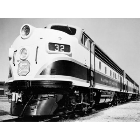 USA General Motors model F7 locomotive 4500 HP diesel Canvas Art -  (24 x