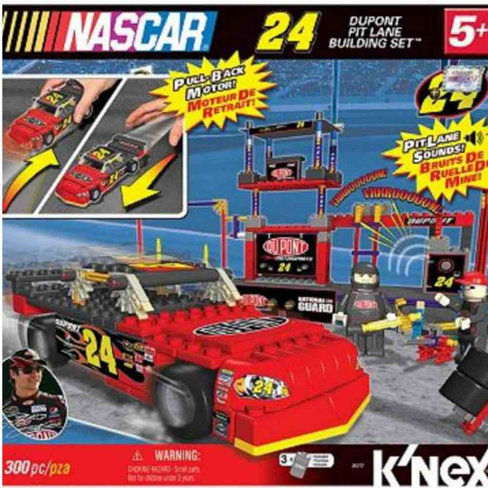KNEX Nascar Dupont Pit Lane Building Set 300 Pc Knex by K'NEX Brands, L.P