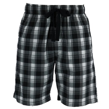 Jams Lounge Shorts - Fruit of the Loom Men's Madras Woven Jam Shorts