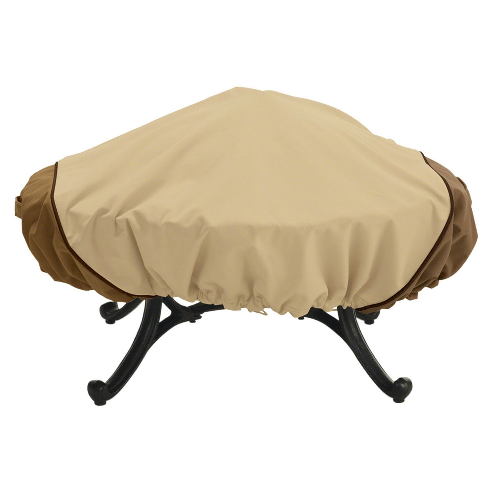 Classic Accessories Veranda Fire Pit Patio Storage Cover Round