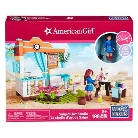 Mega Bloks American Girl Saige S Art Studio