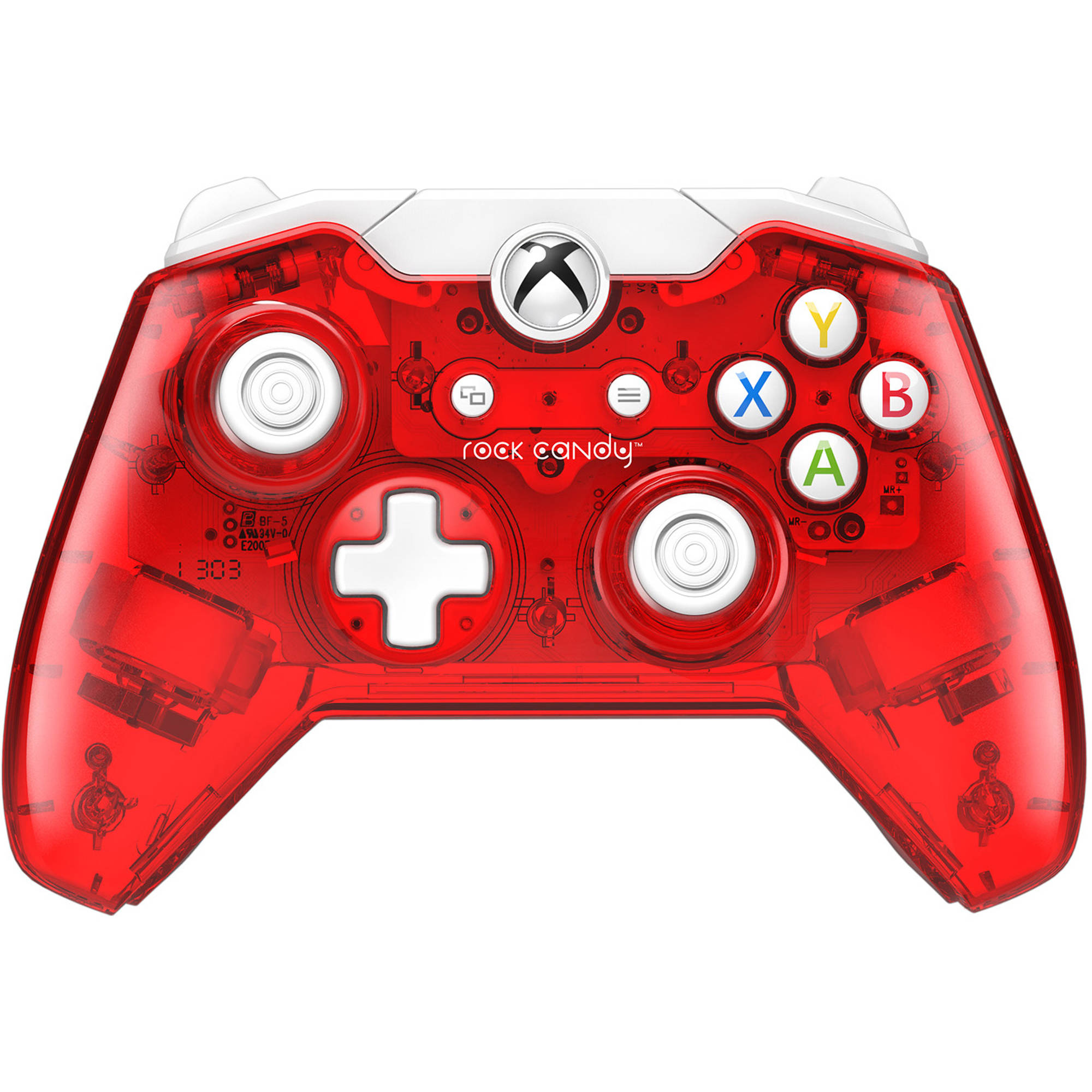 Rock Candy Wired Controller Red Xbox One Holiday Brilliance Light Wiring Diagram