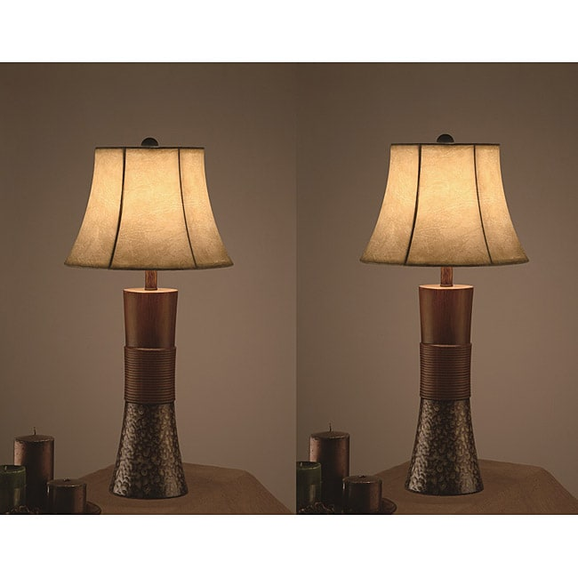 Beautiful CDECOR Metropool 30 Inch Table Lamps (Set Of 2)