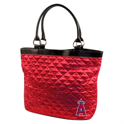MLB - Women's Los Angeles Angels of Anaheim Quilted Tote