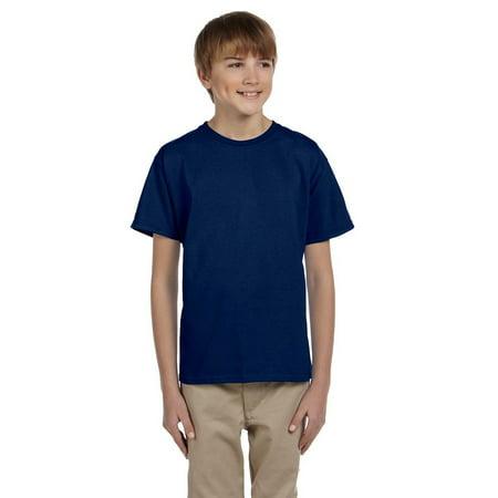 Gray Suits For Boys (Gildan Boys Ultra Cotton Seamless Collar T-shirt)