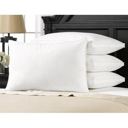 Overstuffed Luxury Plush Med/Firm Gel Filled Side/Back Standard Sleeper Pillow - Set of (Best Pillow For Shoulder Pain Side Sleeper)