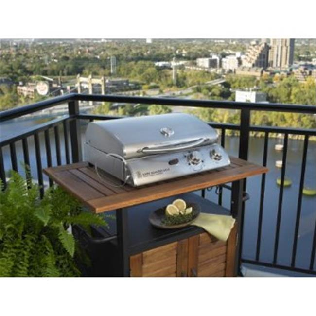 Outdoor Greatroom Company LG20i/e-2 Cook Number Legacy 2 - Stainless Steel 20 in. Electric Convection Grill -with Black Vinyl cover.