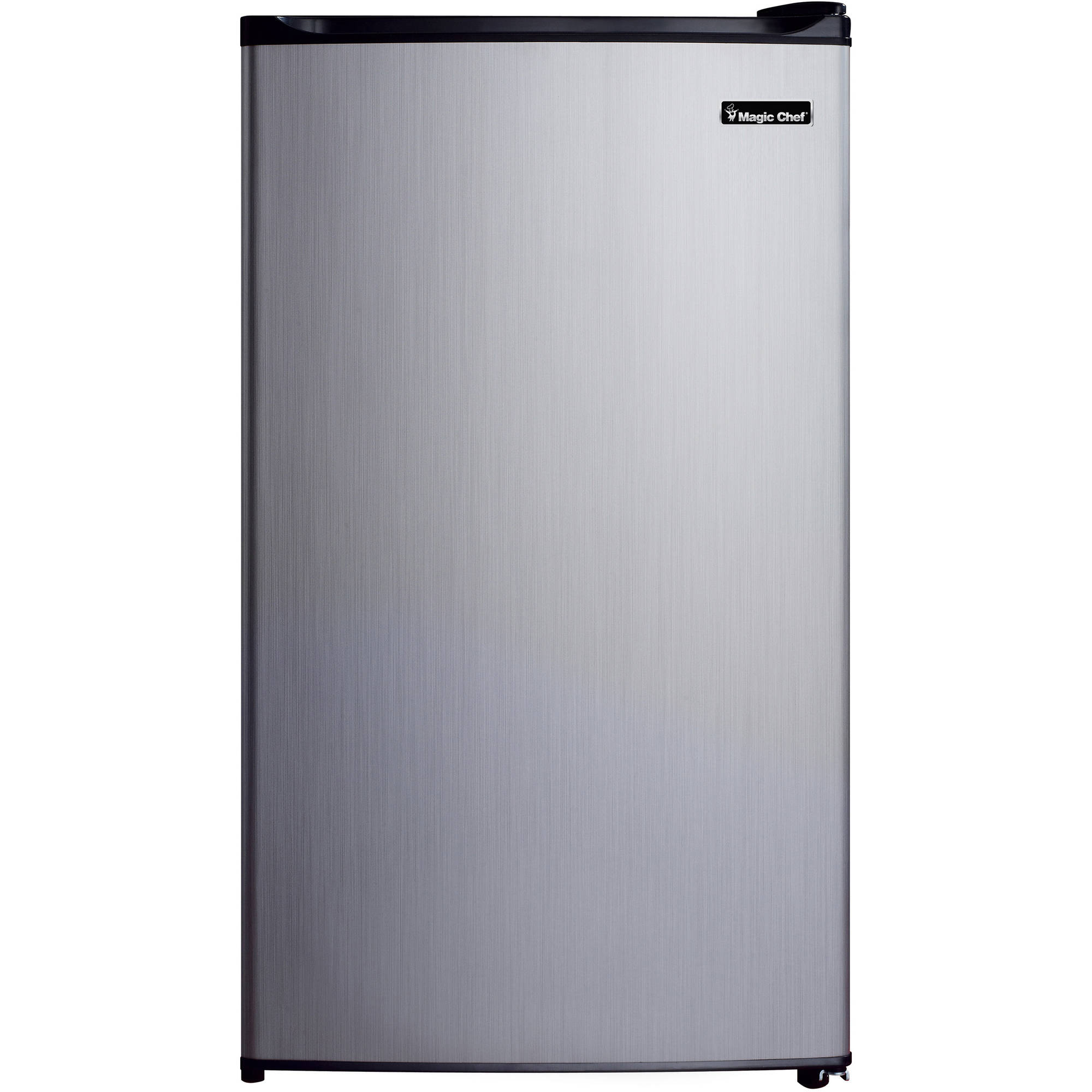 Magic Chef 3.5 cu ft Refrigerator, Stainless Look