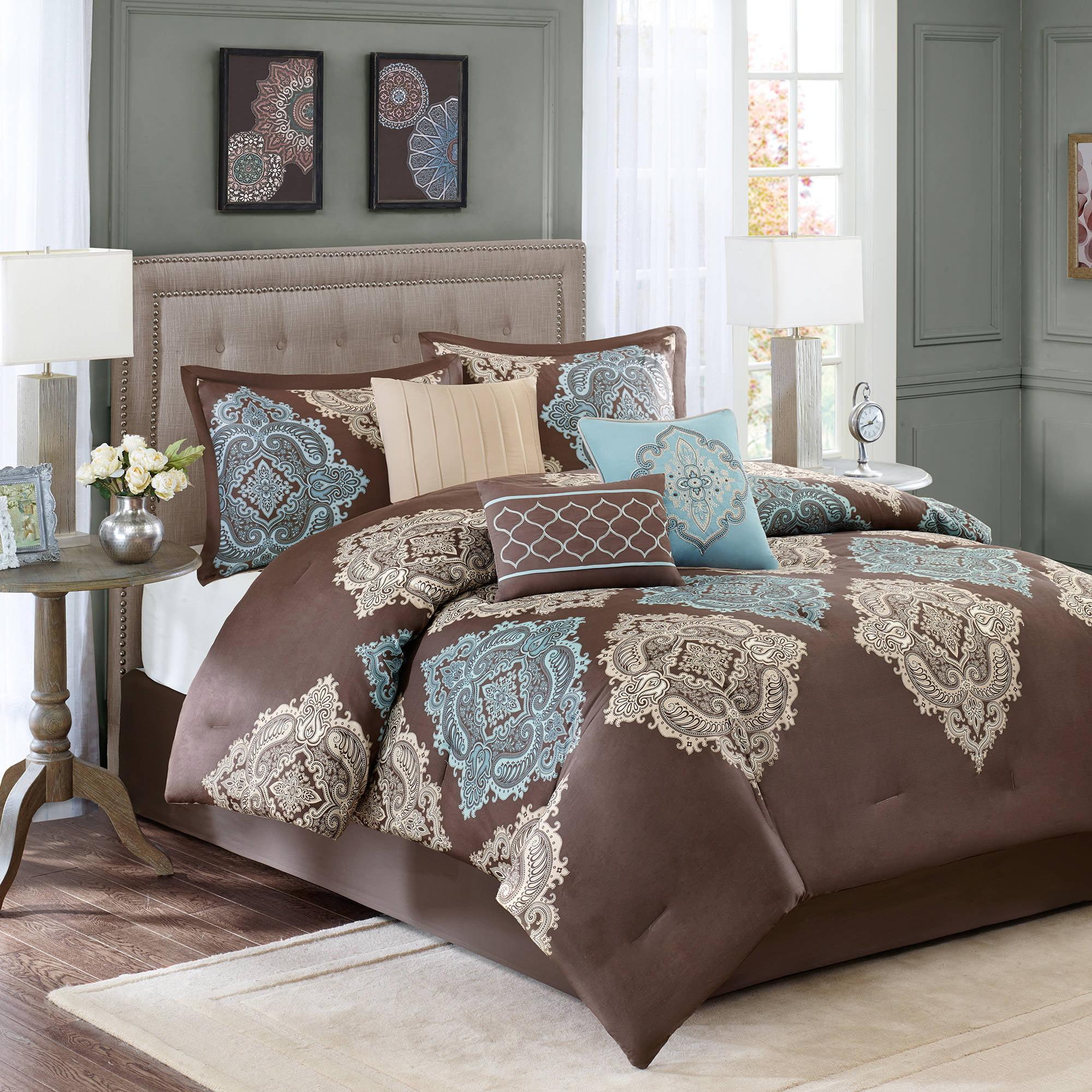 sets york comforter p bedding queen set stripe khaki new newport warm multi j by