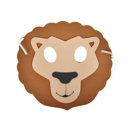 New Halloween Costume Party Foam Zoo Animal Lion Mask - Tool Halloween New Song