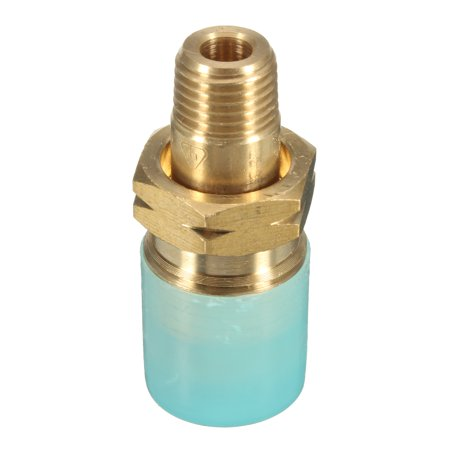 1/4& 6mm MNPT Propane LP Gas Cylinder Fitting Full Flow POL Connector Brass Brass Polo Double Cylinder