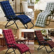 Recliner Chair Cotton Seat Pad Replacement Cushion Pad For Garden Sun Lounger