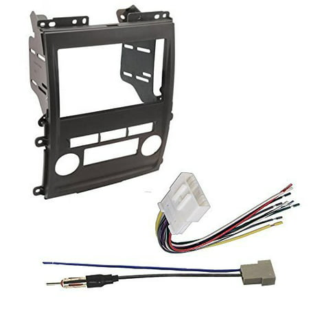 - nissan 2009 - 2012 frontier car radio stereo cd player dash install mounting kit harness
