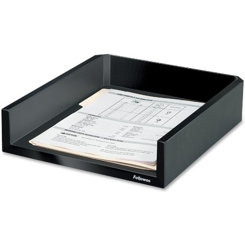 8038501 Designer Suites Letter Tray, Holds letter and A4 size paper By Fellowes by