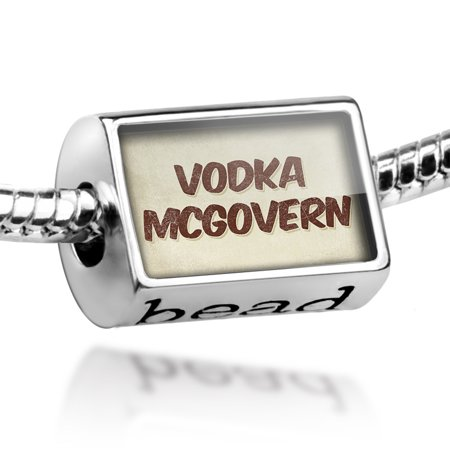 Bead Vodka McGovern Cocktail, Vintage style Charm Fits All European Bracelets (Easy Halloween Cocktails With Vodka)