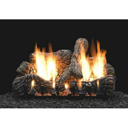 Ceramic Fiber Log (Charred Oak 18