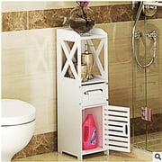 Zimtown Bathroom Cabinet Bathroom Mini Storage Shelf Tissue Dispensers Organizer Rack