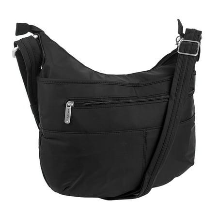 Travelon Anti-Theft Complete Crossbody Bag Black
