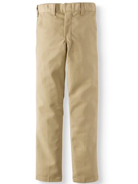 Genuine Dickies Boys School Uniform Slim Fit Cell Phone Pocket Pants (Little Boys & Big Boys)