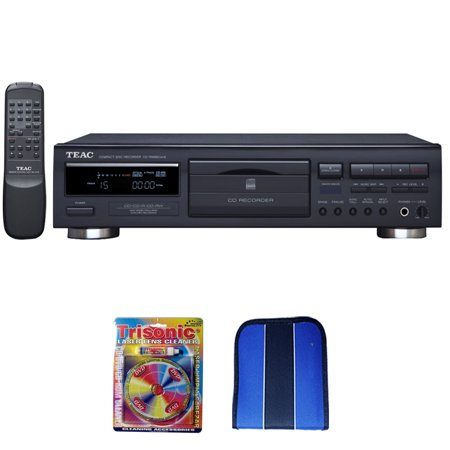 Teac CD Recorder With Remote (6-CD-RW890MK2-B) - Essentials Bundle Includes, Trisonic Lens Cleaning Kit & CD/DVD (Teac Cd 2000 Cd Sacd Player Review)