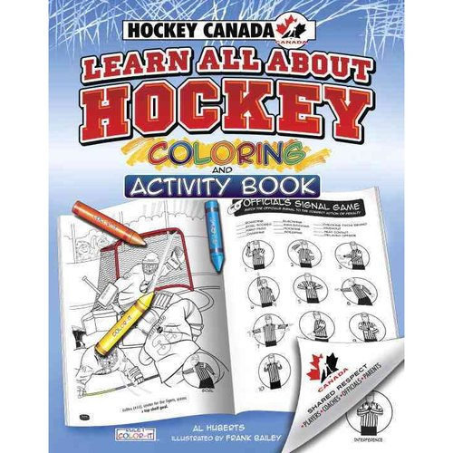 Learn All About Hockey Coloring and Acitivity Book