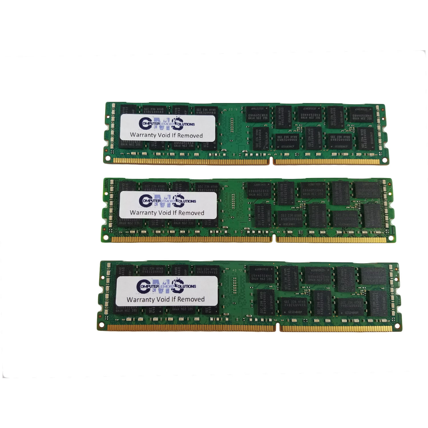 24Gb (3X8Gb) Ram Memory Compatible Hp/Compaq Proliant Ml350 G6 Ddr3-1333 Ecc Reg For Server Only By CMS B105