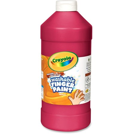 Crayola Washable Finger Paint Markers, 1 Each Red Finger Paint
