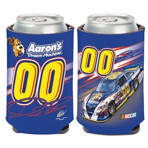 David Reutimann Official NASCAR 12 oz. Insulated Coozie Can Cooler by Wincraft