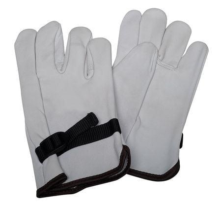 Condor 3RNA2 11 Gray Top Grain Goatskin Electrical Glove Protector by Condor
