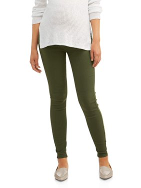 Maternity Full Panel Five Pocket Skinny Pant - Available in Plus Sizes