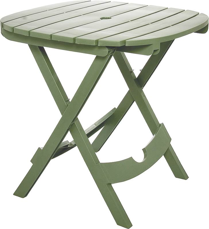 Adams Manufacturing Quik-Fold Caf Table, Sage