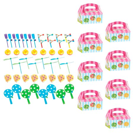 Sunshine Shoppe Supply (Candy Shoppe Filled Favor Box Kit (For 8)