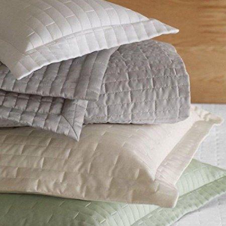 Fine Italian Linen - Sferra Sesto Grey Euro Pillow Sham Fine Italian Linens 4235