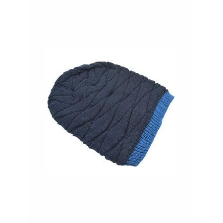 Unique Bargains Unisex Stretchy Toboggan Knit Daily Slouchy Soft Warm Beanie