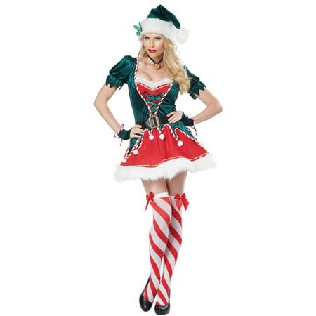 Womens Santas Helper Costume - Hefner Costume