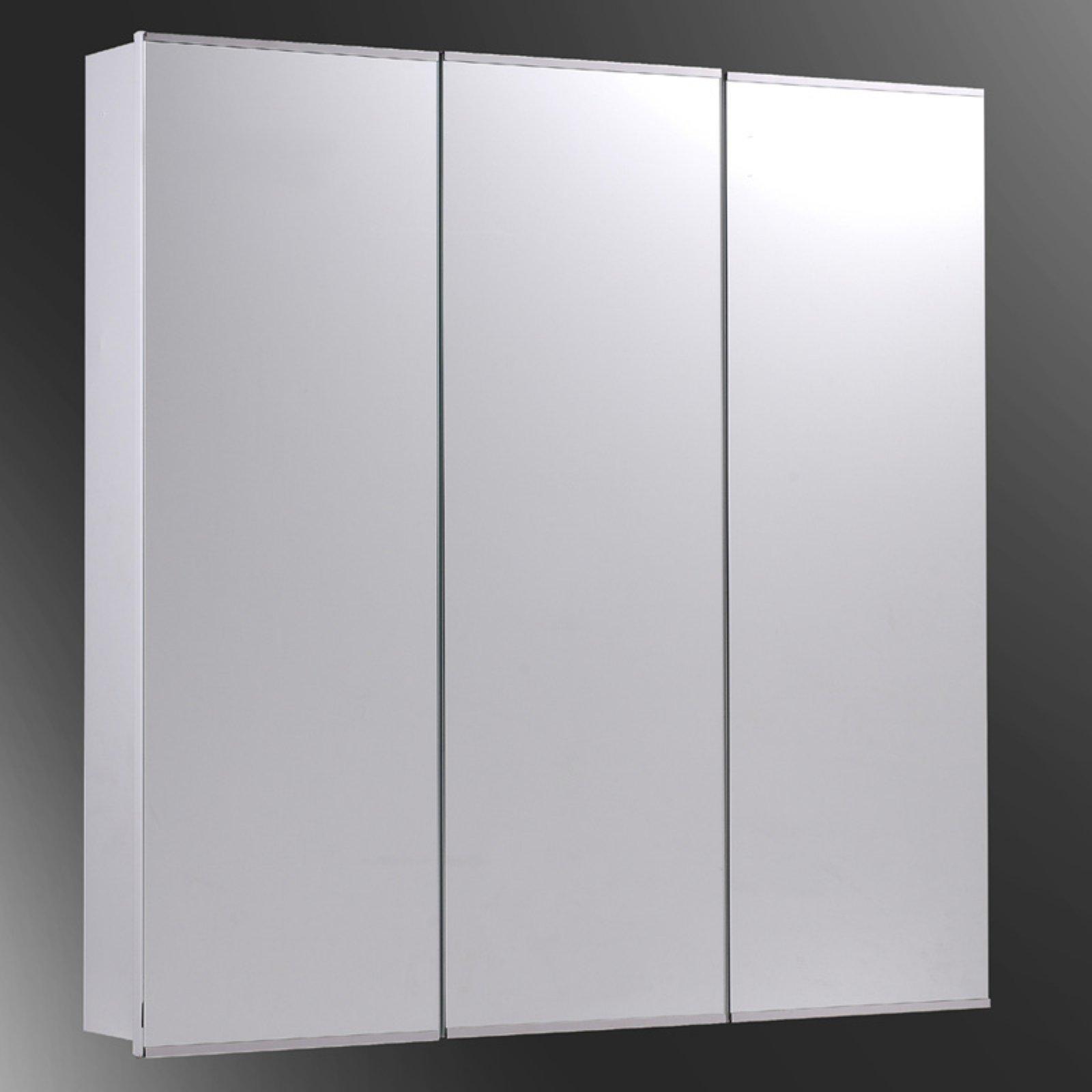 Ketcham 30W x 36H-in. Tri-View Recessed Medicine Cabinet by Ketcham Medicine Cabinets