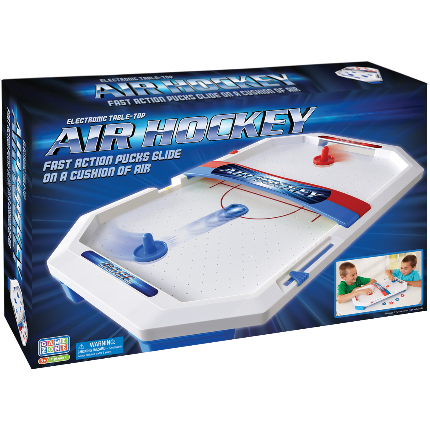 Game Zone Electronic Table-Top Air Hockey by Game Zone