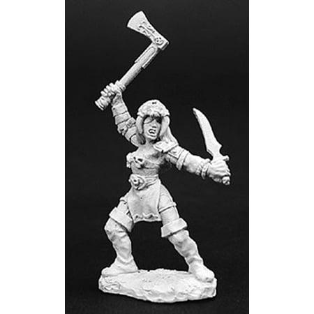 Reaper Death Seal (Reaper Miniatures Caella, Death Cultist #02746 Dark Heaven Unpainted Metal)