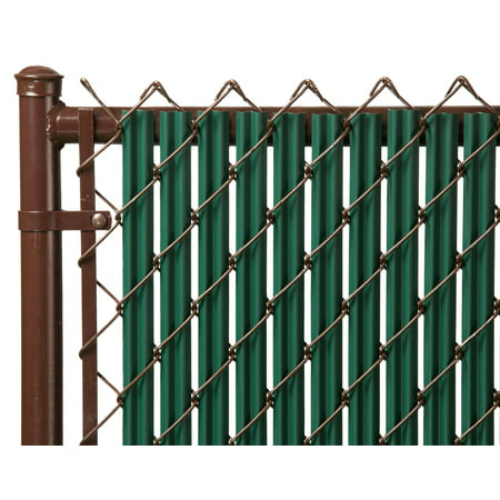 Green 6ft Ridged Slat for Chain Link Fence Slats Chain Link Fences