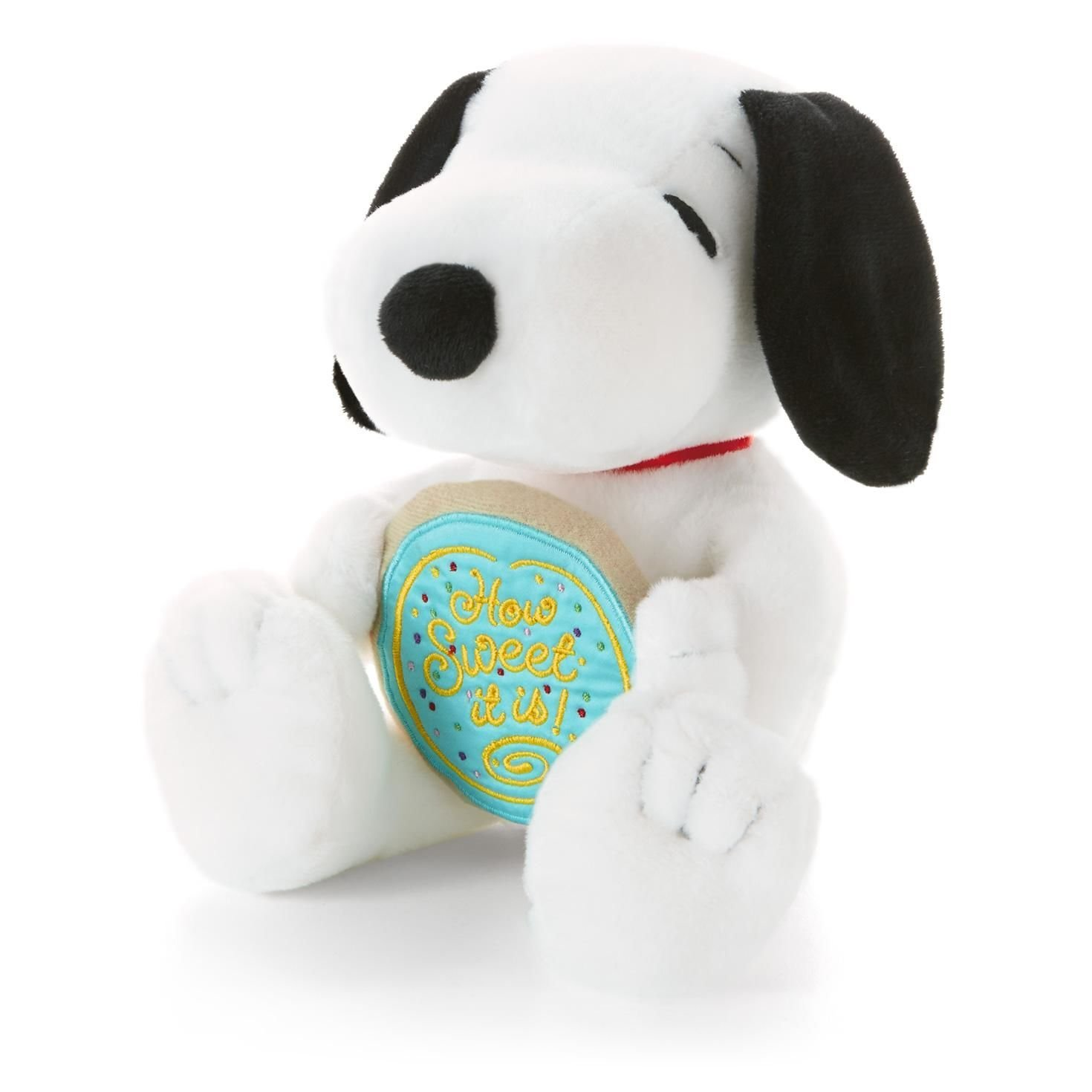 Snoopy Holding Cookie Classic Stuffed Animals Hallmark Paj1104 How