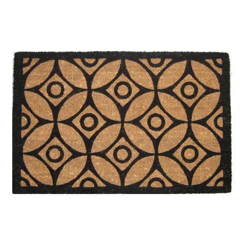 Elegant Geometric Pattern Outdoor Doormat