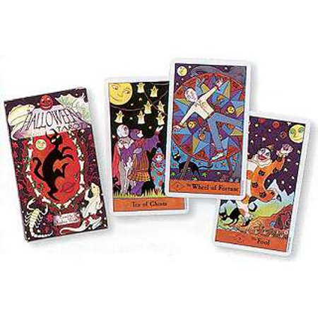 Party Games Accessories Halloween Séance Tarot Cards Halloween Magic and Mystery Tarot Card Deck by West, Kipling (Halloween Game Mystery Box)