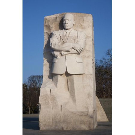 Martin Luther King Jr. National Memorial, a Monument to Civil Rights Leader, Washington, D.C. Print Wall Art By Joseph